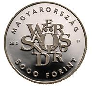 Hungary / 5,000 HUF / silver .925 / 34 mm / 20 g / Design: Zoltán Tóth / Mintage: 5,000.