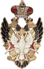 8803: Russia. Imperial and Royal Order of the White Eagle. Estimate: 40,000 euros. Hammer price: 160,000 euros.