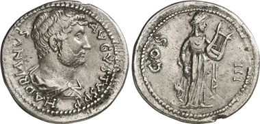 Province of Asia. Hadrian, 117-138. Cistophor. Rev. Apollo Archegetes with cithara. Gorny & Mosch 204 (2012), 1803.