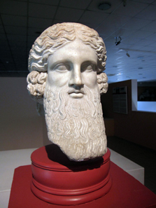 Head of Hermes, dated 30 BC to 395 AD. Photo: KW.