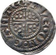 England, John, king of England 1199-1216, penny (= sterling), silver