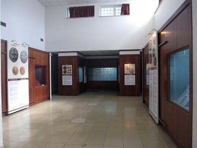 The coin exhibit. Photo: KW.