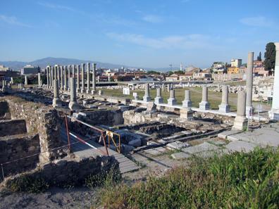 Agora of Smyrna. Photo: KW.