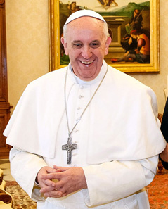 Pope Francis during a meeting. Photo: Agência Brasil / http://creativecommons.org/licenses/by/3.0/br/deed.pt
