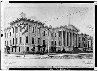 Das Gebäude der zweiten, 1874 eingeweihten Münzstätte von San Francisco.