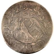 Lot 5683: 1794 $1 Fine 12 PCGS. CAC. B-1, BB-1, R.4.