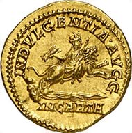 Nr. 410: ROM. Caracalla, 197-217 n. Chr. Aureus 204 n. Chr, Rom. Rs.: INDVLGENTIA AVGG / IN CARTH, Dea Caelestis. RIC 130(b). Selten. Fast Stempelglanz. 10.000 / 23.000 Euro