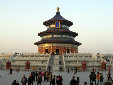 Temple of Heaven / Beijing. Photograph: Fioshoot / Wikipedia. CC-by-2.0.