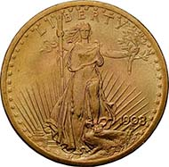USA, 20 $, gold (33.4 g), 1924