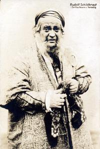 Rudolf Schildkraut (1862-1930) als
