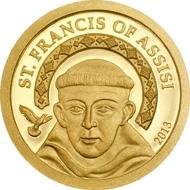 Palau / 1 Dollar / Gold .9999 / 0,5 g / 11 mm / Auflage: 25.000 Stück.