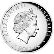 Australia / 1 AUD / silver .999 / 31.135g / 32.60mm / Design: Tom Vaughan / Mintage: 20,000.