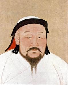 Kubilai Khan (1260-1294).