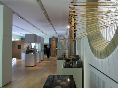 View inside the exhibition, section Early Neolithic. Photograph: KW.