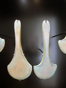 Two Langquaid Type axes. Photograph: KW.