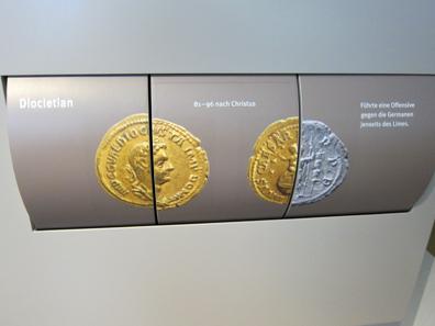 Interaktives Element zur Numismatik. Foto: KW.
