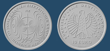 Die neue 10-Euro-Gedenkmünze