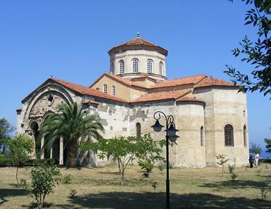 Die Hagia Sophia in Trabzon am Schwarzen Meer. Foto: Alaexis / http://creativecommons.org/licenses/by-sa/3.0/deed.en