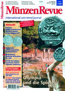 Nach der Übernahme der MünzenRevue durch den Gietl Verlag im Jahr 2000 fand die Zeitschrift im Januar 2001 ihr heutiges Aussehen und erschien mit 144 Seiten - daraus sind heute mindestens 166 Seiten geworden, immer wieder mal auf 182 Seiten aufgestockt.