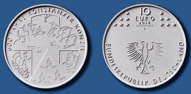 10-Euro-Gedenkmünze