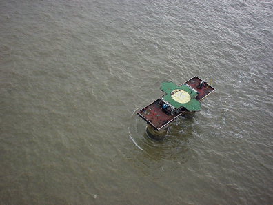 Sealand from above. Photo: Ryan Lackey / http://creativecommons.org/licenses/by/2.0/deed.en