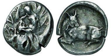 Le Rider IX, 7; Exemplar Slg. Traeger, Künker 136, 2008, 371; 24 mm; 11,26 gr.