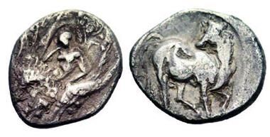 Le Rider IX, 8; Exemplar Sammler-Merkur 17, 59; 28 mm; 11,24 gr.