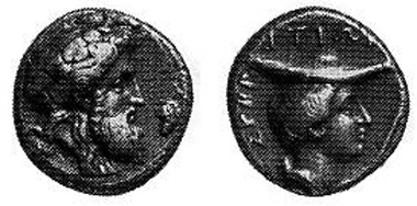 Svoronos 315,4, Taf. 30,16; Exemplar Leu 77, 2000, 233; 21 mm; 10,79 gr.