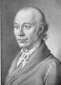 Johann Heinrich Voß. Sepiazeichnung von J. N. Peroux.