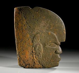 19: GUATEMALA, Maya. Klassische Periode. Hacha. Aus einer belgischen Privatsammlung, in New York erworben. Schätzpreis: 11.000 Euro.