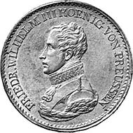 Prussia. Frederick William III, 1797-1840. Taler, Berlin, 1813. Jaeger 37. From auction sale Münzen und Medaillen AG 91 (2001), 118.