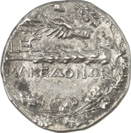Macedonia. Issue of military government. Tetradrachm, 148/7, Amphipolis. Extremely fine. Estimate: 3,000 euro.