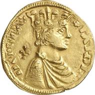 Nr. 4058: Mittelalter / Italien. Sizilien. Karl I. von Anjou, 1266-1282/85. Reale d'oro o. J., Brindisi. Fr. 138. Selten. Sehr schön bis vorzüglich. Schätzung: 8.500 Euro.