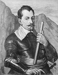 Albrecht von Wallenstein, ca. 1636-1641. Gemälde von Anthony van Dyck. Bayerische Staatsgemäldesammlungen München.