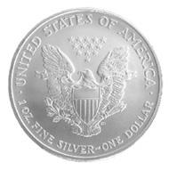 Li. Originalmünze, re. angelaufene Münze.