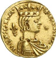 5302: Italien. Sizilien. Carlo I. d'Angio, 1266-1282. Reale d'oro o. J., Messina. Fb. 75. Äußerst selten. Vorzüglich. Taxe: 25.000 Euro.