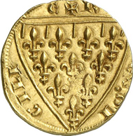5302: Italy. Sicily. Carlo I d'Angio, 1266-1282. Reale d'oro n. y., Messina. Fb. 75. Extremely rare. Extremely fine. Estimate: 25,000 Euros.