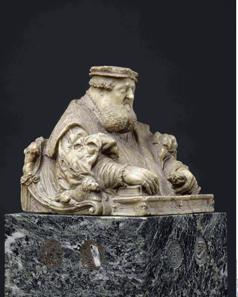 Bildnisbüste des Kurfürsten Ottheinrich von der Pfalz. Paris, Musée du Louvre, Département des Sculptures, Donation Sauvageot. Dietrich Schro zugeschrieben, um 1556. © bpk | RMN - Grand Palais | Daniel Arnaudet | Jean Schormans | Renè-Gabriel Ojèda.