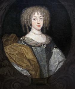 Bildnis der jungen Elisabeth Charlotte (Liselotte) von der Pfalz. Mannheim, Reiss-Engelhorn-Museen. Unbekannter Künstler, um 1670. © rem, Jean Christen.