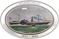 Cook Islands / 5 Dollar / Silber .925 / 25 g / 30 x 45 mm / Auflage: 1.865.