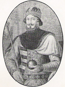 Louis of Anjou, King of Poland and Hungary. Source: Wikipedia.