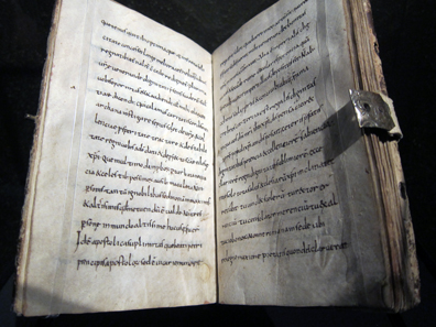 Alkuins Briefe an Karl. Stiftsbibliothek St. Gallen. Foto: UK.