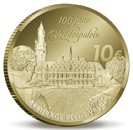 The Netherlands / 10 euros / .900 gold / 6.72g / 22.5mm / Mintage: 2,000.