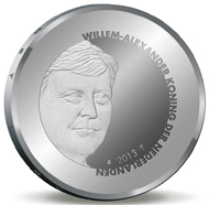 The Netherlands / 5 euros / .925 silver / 15.5g / 33mm / Mintage: 12,500.