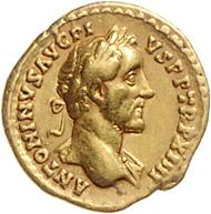 Los 194: Rom, Antoninus Pius, AV Quinar 150 n. Chr. Schätzpreis: Euro 5.500.