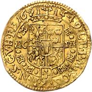 Los 903: Polen, Johann II. Kasimir, Dukat 1649. Schätzpreis: Euro 20.000.