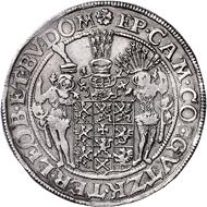Los 911: Pommern, Bogislaus XIV., Taler 1633. Schätzpreis: Euro 3.500.