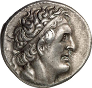 EGYPT. Ptolemy I, 305-282. Tetradrachm, 295/4-293/2, Alexandria. Weight: 14.16 g. From auction sale Gorny & Mosch, München 165 (2008), 1435.