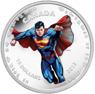 $15 fine silver coin: Modern day.
