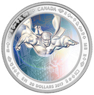 $20 fine silver coin: Metropolis.